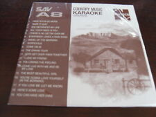 NUTECH KARAOKE  DISC COUNTRY SAV A8 CD+G SEALED 19 TRACKS