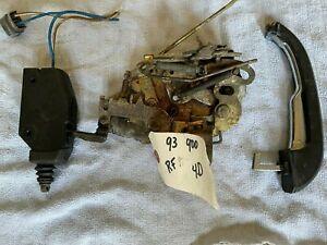 Door Mechanism/Lock Kit.  Saab 900 4door Sedan 1990-93. Right Front.