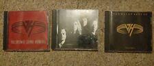 Van Halen CD Lot-For Unlawful,Best Vol.1,OU812