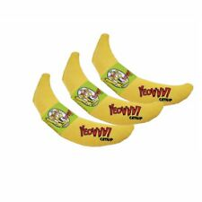 YEOWWW! Catnip Banana 3 PACK | Pure Leaf & Flowertop Blend | Cat and Kitten Toy
