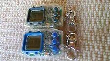 RARE Used Digimon Adventure Digital Monster Pendulum 1.5 D-1 Bandai 2 pieces F/S