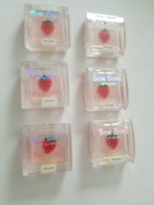 (LOT OF 10 ) Bon Bons By Bari Flavored Lip Gloss RED STRAWBERRY 082 Factory Seal