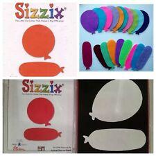 Sizzix Die Balloons #2 Birthday Party Banner Cuts Scrapbook Diecut Retired WCase