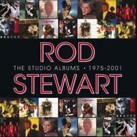 ROD STEWART - THE STUDIO ALBUMS 1975-2001  14 CD NEU