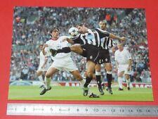 PHOTO CARTE L'EQUIPE FOOTBALL FINALE CHAMPIONS 2003 JUVENTUS MILAN AC INZAGHI