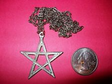 PENTAGRAM WICCAN PAGAN 5 POINTED STAR  PENDANT NECKLACE