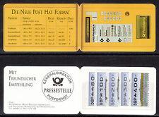 Echte Automatenbriefmarken aus der Bundesrepublik