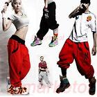 Mens Womens Casual Harem Baggy Hip Hop Dance Sport Sweat Pants Trousers Couple