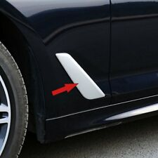 Fit BMW 5 Series G30 2017 2018 Outside Air Vent Fender Cover Trim Chrome ABS