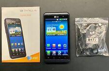 LG Thrill 4G P925 - 8GB - Dark Blue (AT&T Locked GSM) w 3D Stereoscope Used
