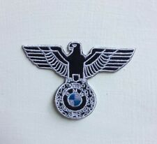 BMW Eagle car Badge Iron or sew on Embroidered Patch