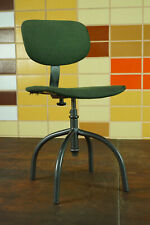 70er Vintage Office Chair Swivel Chair Desk Chair Architects Fabric 60er