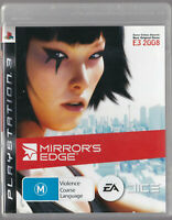 LIKE NEW MIRRORS EDGE WITH MANUAL PS3 Playstation 3 Game
