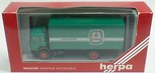 HERPA Nr.858008 Iveco Turbostar Koffer-Lkw 'Kitzmann...Erlanger Bier' - OVP