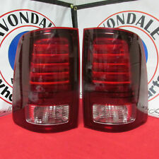 DODGE RAM Driver & Passenger Black Trim Tail Lamp Tail Light NEW OEM MOPAR