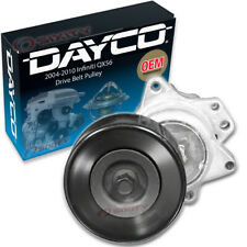 Dayco Drive Belt Pulley for 2004-2010 Infiniti QX56 - Tensioner Alternator vr