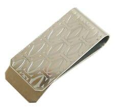 Authentic Cartier Money clip Silver Metallic #1379