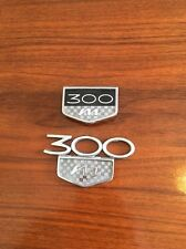 1 Used Pair Of 300 M Emblem In Good Shape Still Usable Off A 06 300 M 99-04 Cars