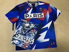 BNWT Nike 2020 Jordan PSG Paris St. Germain Blue Soccer Football Mesh Top BV2027
