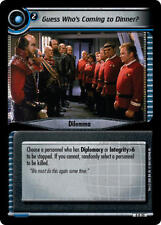 Star Trek CCG 0D20 Guess Who's Coming to Dinner Foil M/NM extremely rare