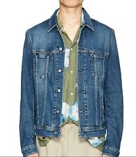 6cb6e01a ACNE STUDIOS BLA KONST - PASS DENIM JACKET - MID BLUE - MENS 48 (M