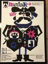 POP ART  PLAKAT FASCHING MÜNCHEN 70ER JAHRE THUNIAK FEST D. MÜNCHENER HOCHSCHULE