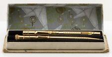Wahl Eversharp Fountain Pen Pencil Set Restored Boxed Flexible Nib