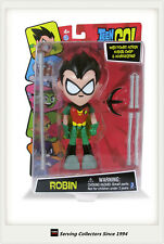 "Big 8"" (20cm) Teen Titan Robin Leader GO! Articulated Action Figure Case Of 4!"