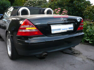 WEYER Cabrio Windabweiser Windschott Mercedes SLK R170
