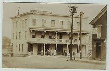 - RPPC   - St Lawrence Inn  - Massena NY 1909  Real Photo Postcard
