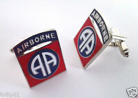 82ND AIRBORNE DIVISION US ARMY CUFF LINKS Military Veteran 14674-C HO