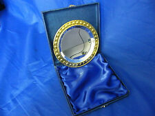 "5"" Silver/Gold Salver boxed presentation Golf Sport Award Trophy Winner School?"
