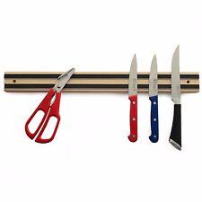 """Norpro 22 Hardwood 18"""" Magnetic Knife Bar Tool Holder"""