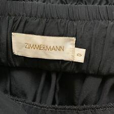 Zimmermann Black Silk Strapless Dress - Sz 0
