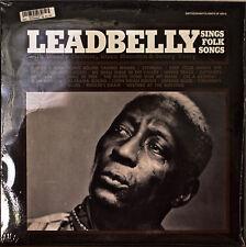 LEADBELLY SINGS FOLK SONGS-SEALED1989LP WOODY GUTHRIE/CISCO HOUSTON/SONNY TERRY
