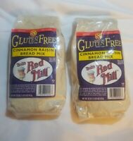 2x Bob's Red Mill GLuten Free Cinnamon Raisin Bread Mix 44 oz total Dairy Free
