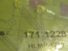 HLMP-1719    Standard LEDs Yellow Diffused 585nm 2.1mcd  7pcs