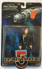 Babylon 5 1997 Captain John Sheridan Action Figure in Earthforce Uniform
