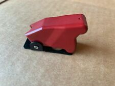 BLUE LED Toggle Racing Switch with Military Cover//Guard