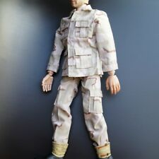 """Camouflage Working Uniform Overalls Fit 12"""" 1:6 Action Figure Model 1/6 Scale"""