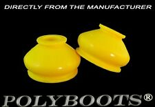 2X Polyboots Polyurethane Dust Boots 11x27x22 mm ATV Ball Joint and Tie Rod End