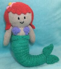 KNITTING PATTERN - Ariel inspired 38 cms soft toy Little Mermaid Princess doll