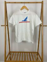 VTG Stedman 80s Piedmont Airlines Big Logo Single Stitch 50/50 Thin T-Shirt L