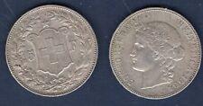 Suisse 5 Francs 1904 Bern Argent TTB - Swiss Helvetia