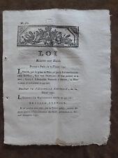 25 février 1791. LOI Relative aux Haras. DECRET ASSEMBLEE NATIONALE