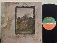 Led Zeppelin IV VG+ BROADWAY LABEL GATEFOLD No Bar Code STAIRWAYtoHEAVEN classic