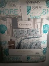 3 Pc Coast/Beach King Quilt Set(1Quilt/2Shams)
