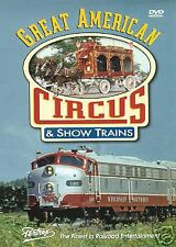GREAT AMERICAN CIRCUS & SHOW TRAINS PENTREX DVD NEW