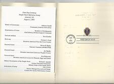 # 3784a PURPLE HEART MEDAL  2003 First Day of Issue Ceremony Program