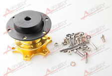 70mm Steering Wheel Quick Release Hub Adaptor For Racing Karting Golden